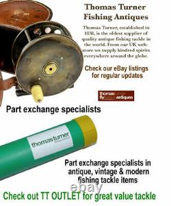 Bruce & Walker Hexagraph Gerry Swanton Specialist Rod, 12 2 Pièces Carpe Avon Rod