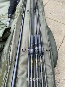 Classique Nash Pursuit X Rods X3 & Nash Pursuit 42 Landing Net & Nash Rod Bag