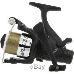 Complete Pêche De La Carpe 2/3 Set Rod & Reel Up Bedchair Bivvy Tackle Leads Pva Net