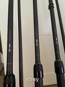 Configuration Complète De La Carpe 4 Rouleaux Shimano, 5 Rods Greys Apex 50 Deal
