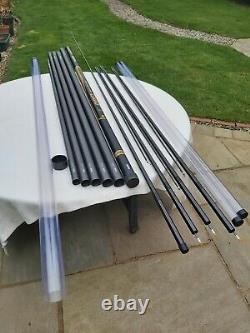 Daiwa 13 Mètres Power Carp Pôle, Semblable À Preston, Matrix, Engins De Pêche Grossière