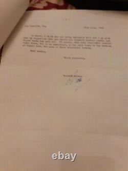 Dick Walker Rod Et Bobine Et Lettres Rare Collectionneurs Lot