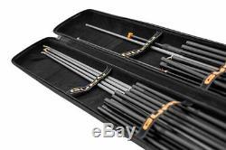 En Stock Guru Fusion X-case Pôle Pêche Top Kit Section Support / Fourre-tout