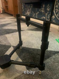 Fox Black Label Qr 3 Tige Compact Complete Pod Carp Fishing Rod Pod