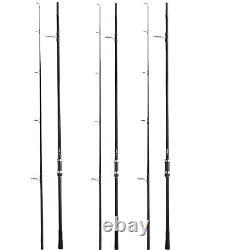 Fox Eos 12ft 3lb Test Curve Rod (crd254) -ensemble De 3- Nouvelle Livraison Gratuite