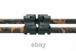 Fox Horizon Duo Camo 4 Rod Pod Inc Case & 2x36 Long Jambes New Carp Fishing