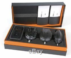 Fox Micron Rx + 3 Rod Alarm Set Nouveau Pêche À La Carpe Alarmes Cei157