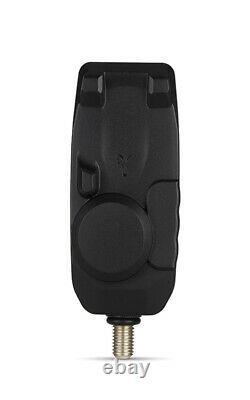 Fox Mini Micron X 4 Rod Alarm & Récepteur Ensemble Batteries Gratuites