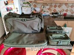 Fox Royale Carryall Large, Étui À Tige Et Pochettes Accessoires X2 Pêche À La Carpe
