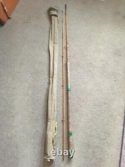 Ft Williams Forcarp Split Cane Mkiv Style Carp Rod. Vgc (vgc)