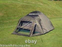 Full Carp Fishing Starter Mis En Place Bivvy Tente Chair 2 Rods And Reels Bag A Tackle