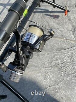 Greys Prodigy Gt3 3 Rod Carp Setup Job Lot