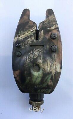 L @@ K Rare Shimano Stc Tribal Rod Voyage Fox L / E Camo Micron MX Accessoires D'alarme