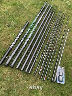 Maver Competition 101 13 Metre Pole (pas Une Marque Sur Elle)