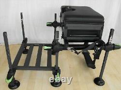 Maver MXI Compact Seatbox & Foot Platform Match Carp Bâton Tige De Bobine De Pêche Configuration
