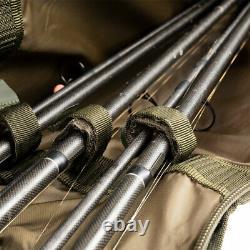 Nash Apache 12ft Rod Holdall 3 Ou 5 Rod Nouveau Cas De La Carpe De Pêche Rod