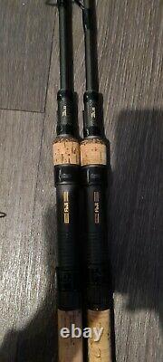 Nash Scope X2 9ft 3lb Cork Plus 2 Rod Scope Bag Pas De Tiges De Carpe De Réserve