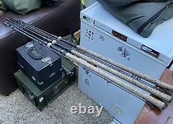 Nash Scopes 9ft 3lb Tc X3 Avec Quiver À Tige Jumelée Et Manches À Tige Unique À La Combinaison
