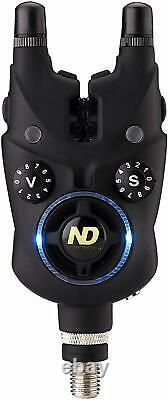 Nd Tackle Smart Alarm Set + Torche Tête + Smart Band Carp Fishing