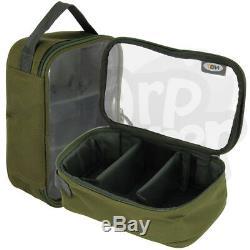 Ngt Big Boy Complète Configuration De Pêche De La Carpe 3x Rods 3x Reels Tackle Holdall Bedchair