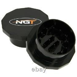 Ngt Pêche Complète Carp 2/3 Rod & Reel Set + Alarmes Bait Tackle Leads Pva Net