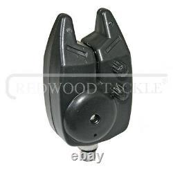 Oakwood Carp Set Rod Pod, 2 Tiges, 2 Rouleaux, 2 Alarmes De Morsure