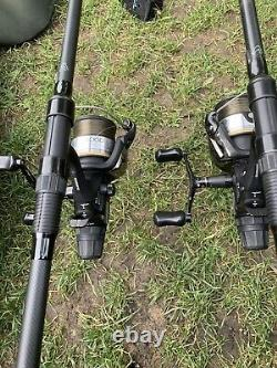 Pêche À La Carpe 2 Rod Set Up