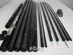 Pouvoir Sensa Power Pole Package 5 Tops Daiwa Drennan Kit Pêche Carpe Mis En Place