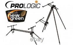 Prologic Tri-sky Pod 3 4 Rod Carp Fishing Léger + Sac Carry