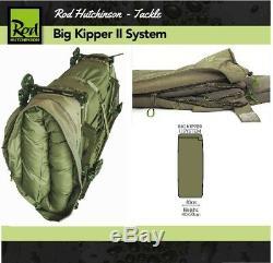 Rod Hutchinson Big Kipper II Système Bedchair & Sac De Couchage Carp Lit De Pêche