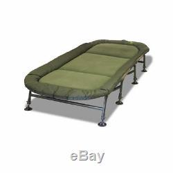 Rod Hutchinson Big Kipper II XL Bedchair Pêche À La Carpe Chaise De Lit