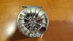 Ross Animas 5/6 5 6 Trout Salmon Fly Fishing Rod Reel Platine Argent