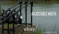 Saber Terrain X Pod 2 / 3 Rod Pod Lightweight Ajustable Carp Pêche