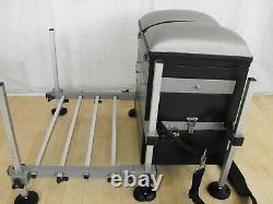 Shakespeare Superteam Matchbox Seatbox & Footplate Match Carp Pole Fishing Setup