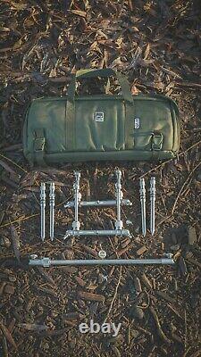 Solar Tackle P1 Compact Worldwide Pod + Buzzbars Nouveau Carpe Fishing Rod Pod