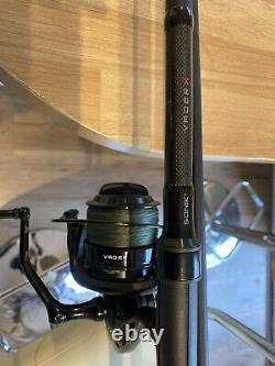Sonik Vader X 12ft Spod / Marker Rod + Spod Bobine Avec Tresse Pêche À La Carpe