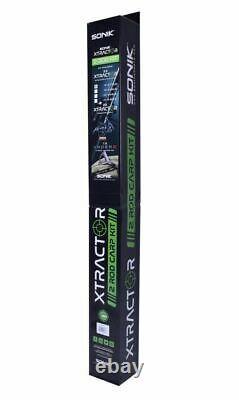 Sonik Xtractor 2 Rod Carp Kit De Pêche 2 Rods 2 Bobines 1 P&p Net Gratuit