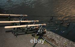 Superbe Joint En Liège Classique Ccr 12ft Carp Rod 2,5lb 2,75lb 3lb Edition Limitée Pike